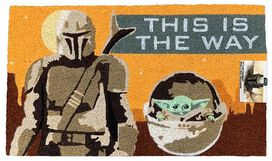 Star Wars The Mandalorian & Child Doormat