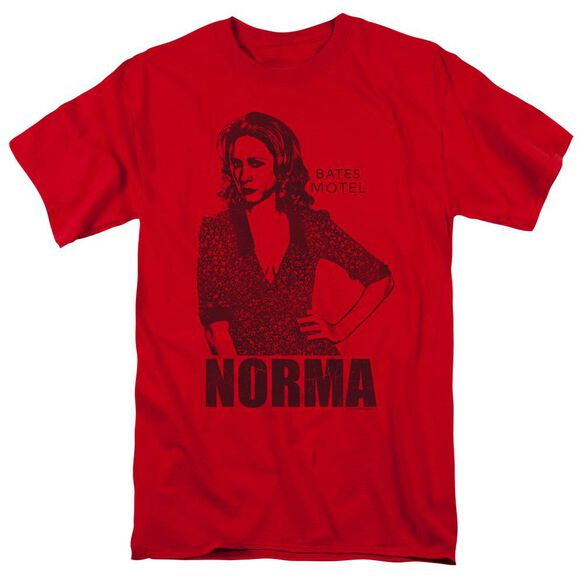 Bates Motel Norma Short Sleeve Adult T-Shirt