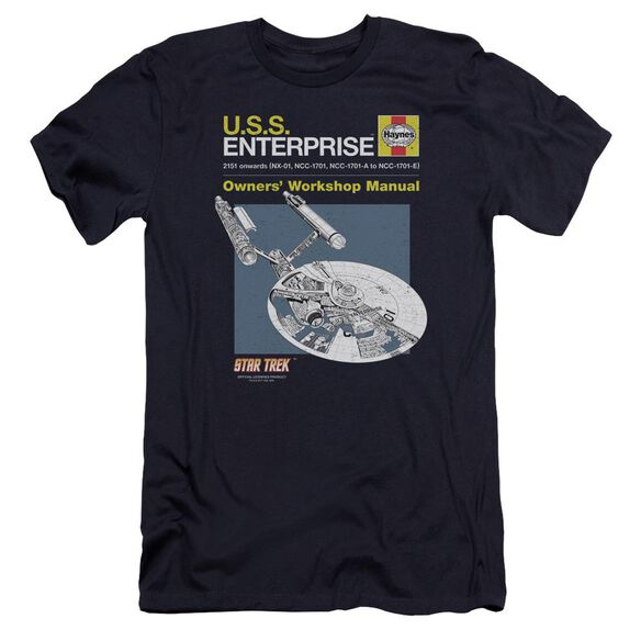 Star Trek Enterprise Manual Premuim Canvas Adult Slim Fit