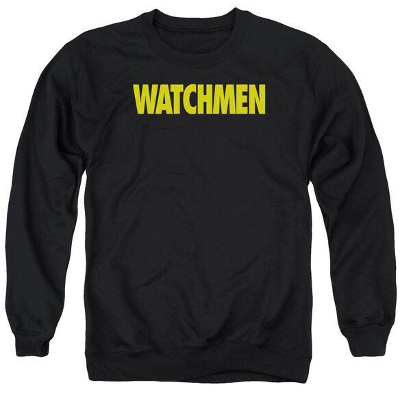Watchmen Logo Adult Crewneck Sweatshirt