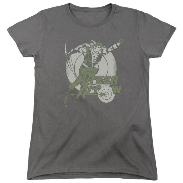 Dc Right On Target Short Sleeve Womens Tee T-Shirt