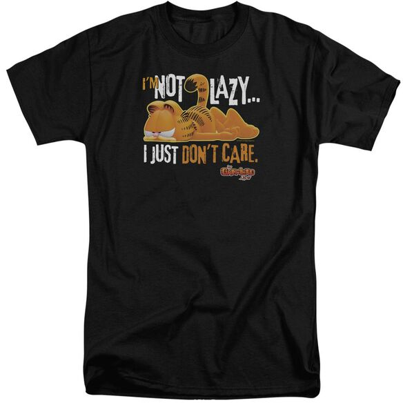 Garfield Not Lazy Short Sleeve Adult Tall T-Shirt