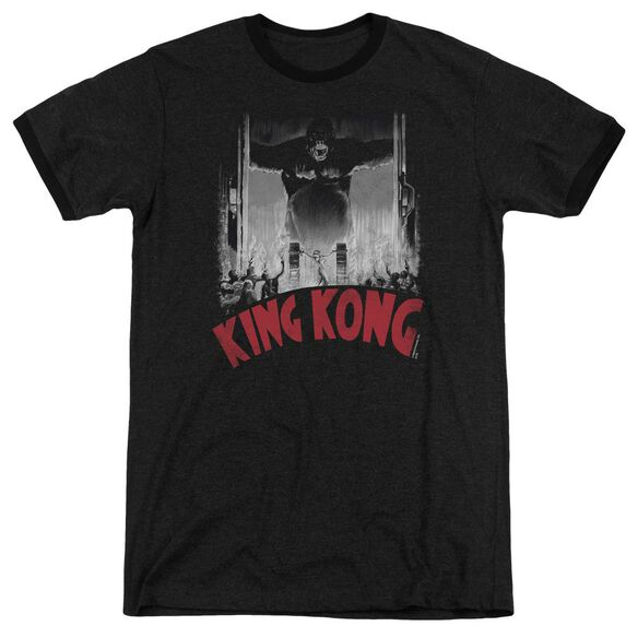 King Kong At The Gates Poster Adult Heather Ringer