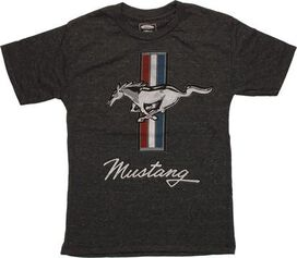 Ford Mustang Emblem Youth T-Shirt