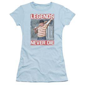Sandlot Legends Short Sleeve Junior Sheer Light T-Shirt