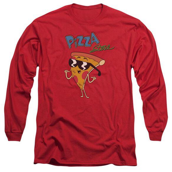 Uncle Grandpa Pizza Steve Long Sleeve Adult T-Shirt