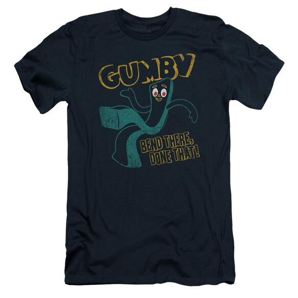 Gumby Bend There Short Sleeve Adult T-Shirt