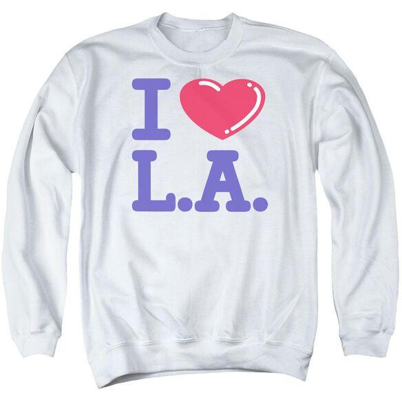 I Love L.A. Adult Crewneck Sweatshirt