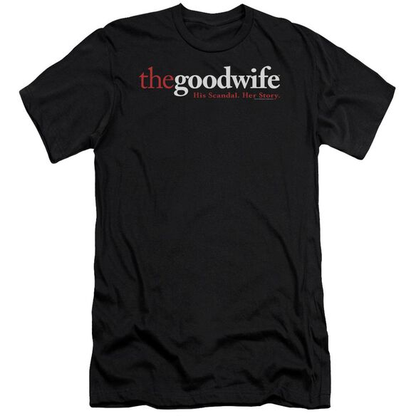 The Good Wife Logo Short Sleeve Adult T-Shirt