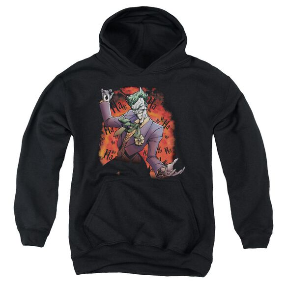 Batman Joker's Ave Youth Pull Over Hoodie