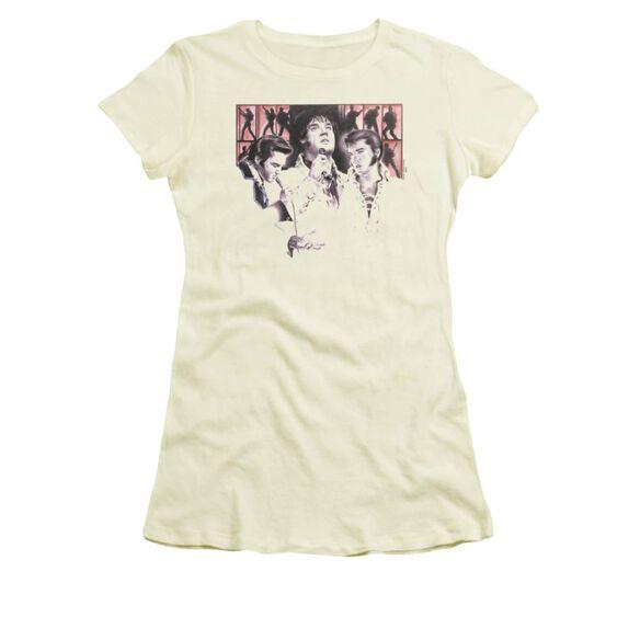 Elvis In Concert Short Sleeve Junior Sheer T-Shirt
