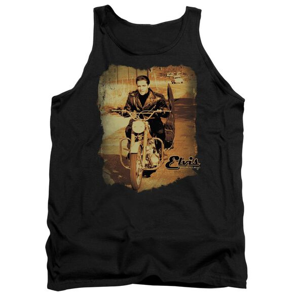 Elvis Hit The Road Adult Tank