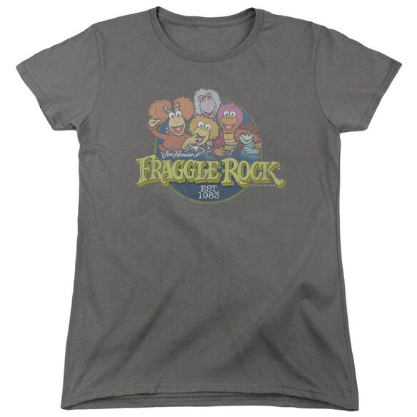 Fraggle Rock Circle Logo Short Sleeve Womens Tee T-Shirt