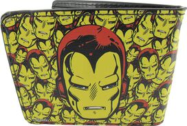 Iron Man Helmet Jumble Wallet