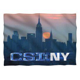 Csi:New York City Logo Pillow Case