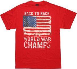 Flag USA Back to Back Champs T-Shirt