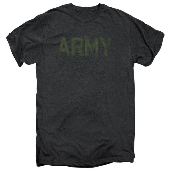 Army Type Short Sleeve Adult Premium Tee Smoke T-Shirt