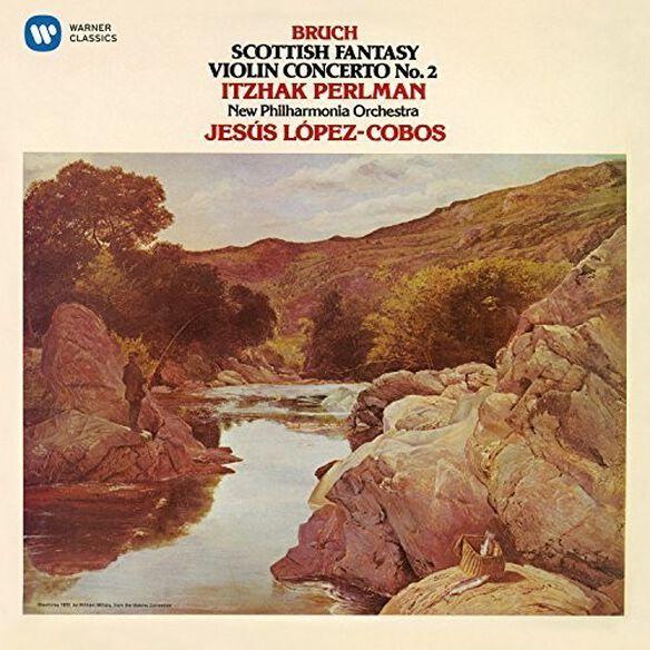 Itzhak Perlman - Bruch: Violin Concerto No 2 & Scottish Fantasy
