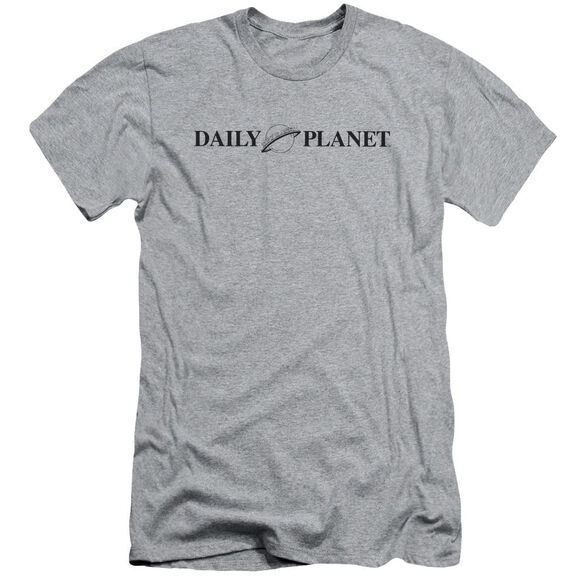 Superman Daily Planet Logo Short Sleeve Adult Athletic T-Shirt