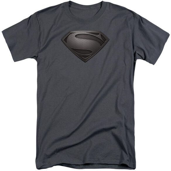 Man Of Steel Mos Desaturated Short Sleeve Adult Tall T-Shirt