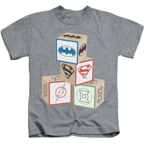 Jla Baby Block Short Sleeve Juvenile Athletic T-Shirt