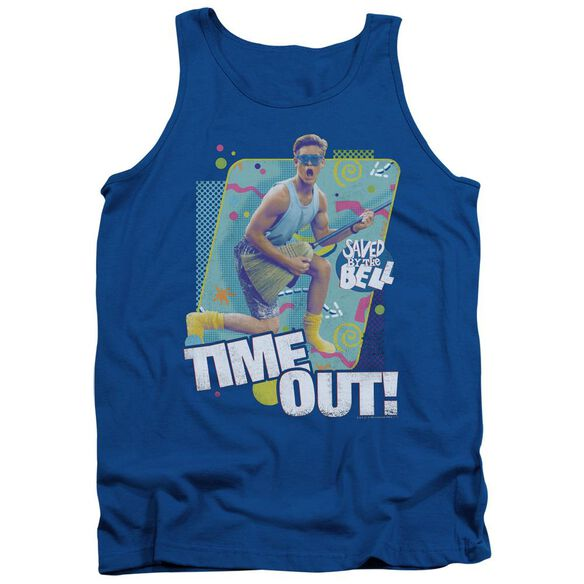 Saved By The Bell Time Out Adult Tank Royal