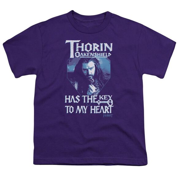 The Hobbit Thorins Key Short Sleeve Youth T-Shirt