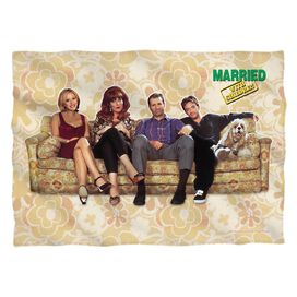 Married With Children Couch Trip Pillow Case