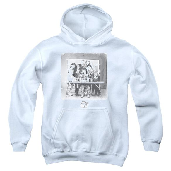 Saved By The Bell Class Photo Youth Pull Over Hoodie