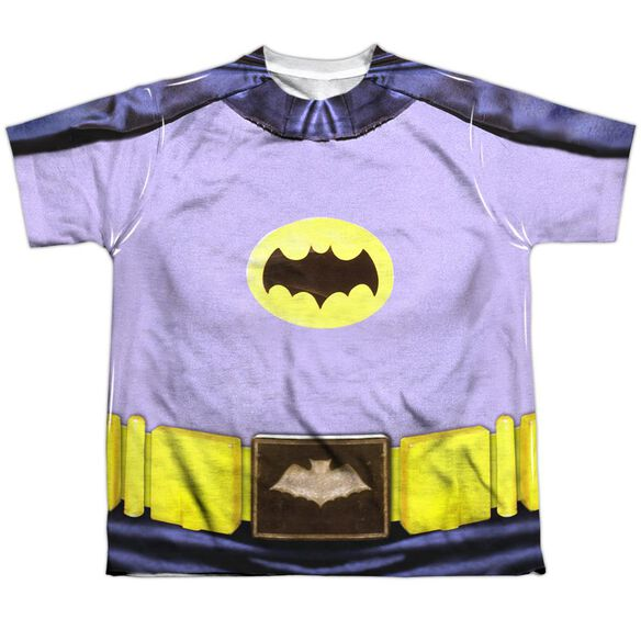 Batman Classic Tv Batman Costume Short Sleeve Youth Poly Crew T-Shirt