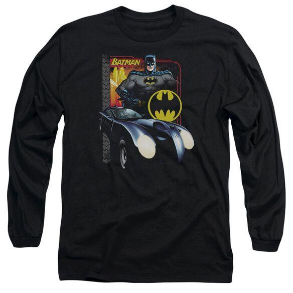 BATMAN BAT RACING-L/S T-Shirt