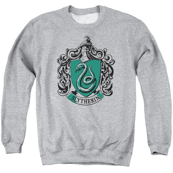 Harry Potter Slytherin Crest Adult Crewneck Sweatshirt Athletic