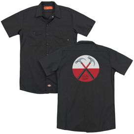 Roger Waters Hammers (Back Print) Adult Work Shirt