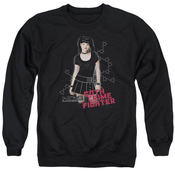 Ncis Goth Crime Fighter Adult Crewneck Sweatshirt