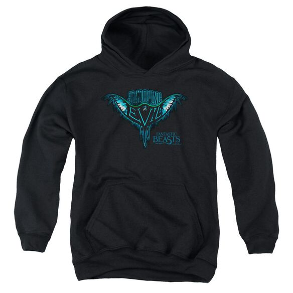Fantastic Beasts Swooping Evil Youth Pull Over Hoodie