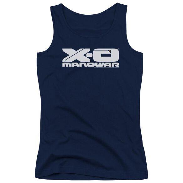 Xo Manowar Logo Juniors Tank Top