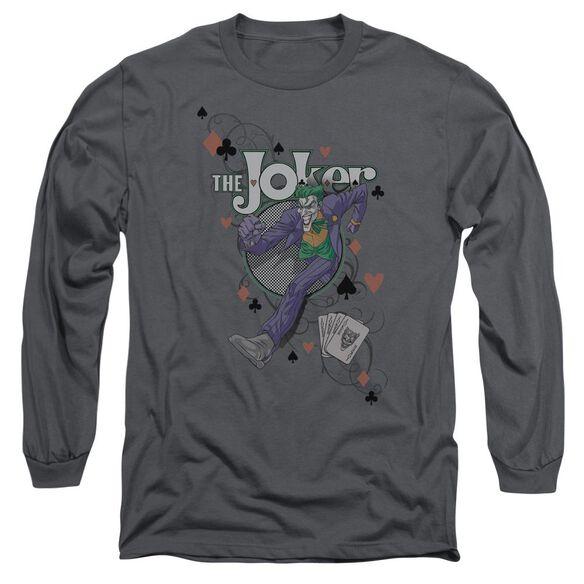 Batman Always A Joker Long Sleeve Adult T-Shirt