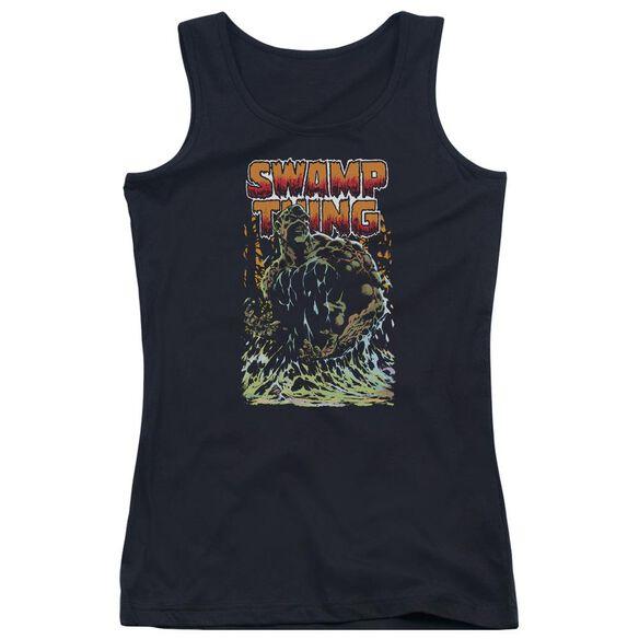 Jla Swamp Thing Juniors Tank Top
