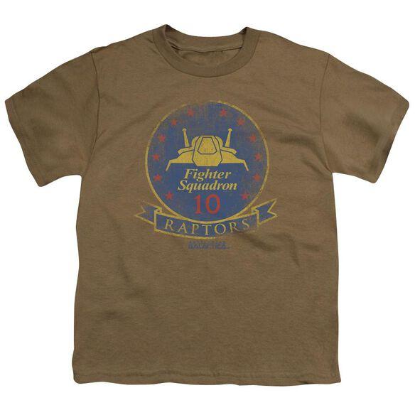 BSG RAPTOR BADGE - S/S YOUTH 18/1 - SAFARI GREEN T-Shirt