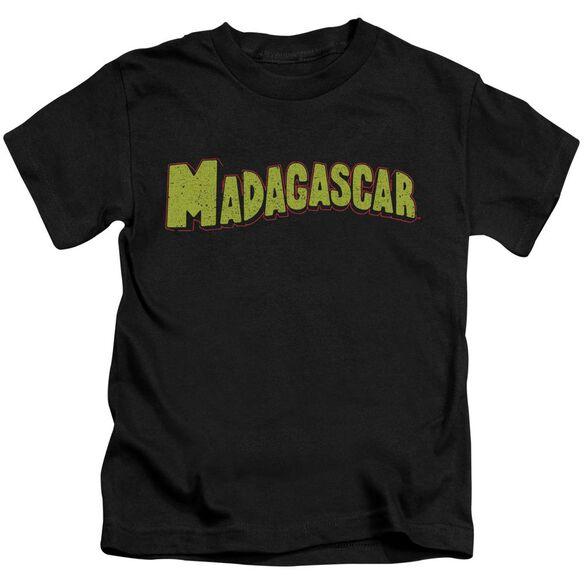 Madagascar Logo Short Sleeve Juvenile T-Shirt