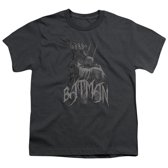 BATMAN SCARY RIGHT HAND - S/S YOUTH 18/1 - CHARCOAL T-Shirt