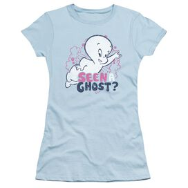 Casper Seen A Ghost Short Sleeve Junior Sheer Light T-Shirt