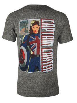 Marvel What If...? Captain Carter T-Shirt
