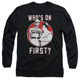 Abbott & Costello First Long Sleeve Adult T-Shirt