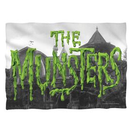 The Munsters Logo Pillow Case White
