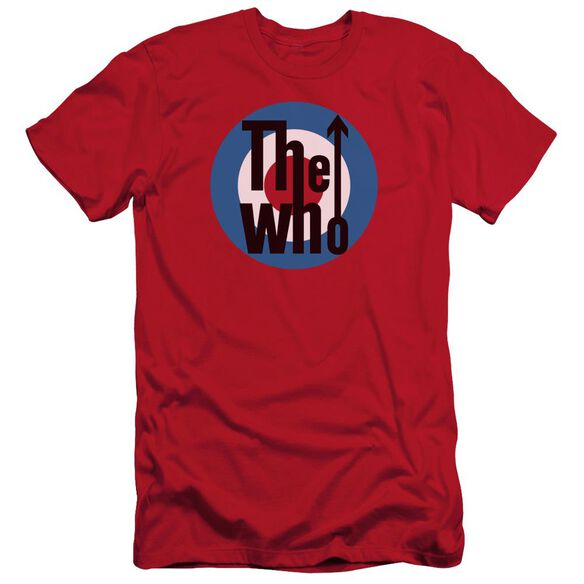 The Who Logo Short Sleeve Adult T-Shirt