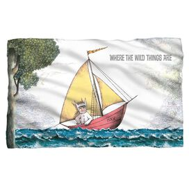 Where The Wild Things Are Maxs Boat Woven Throw