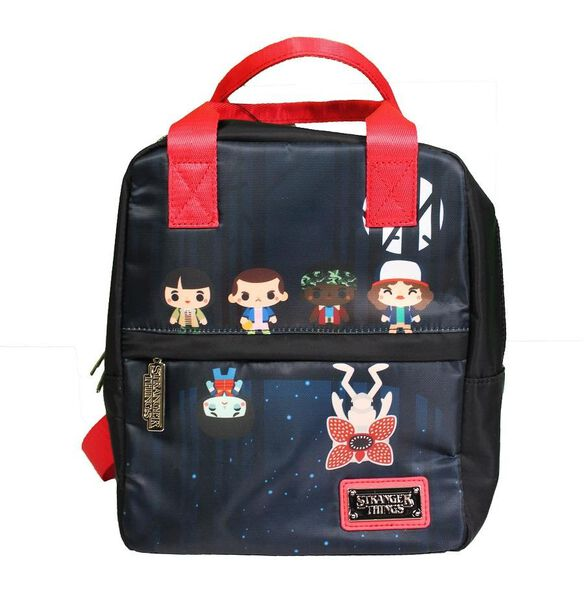 Loungefly Stranger Things Upside Down Chibi Mini Backpack