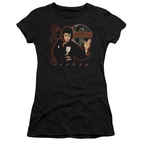 Elvis Karate Short Sleeve Junior Sheer T-Shirt