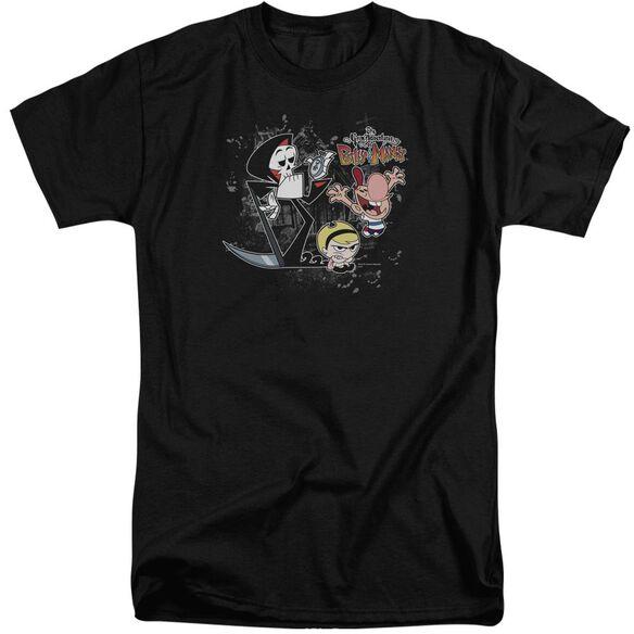 Billy & Mandy Splatter Cast Short Sleeve Adult Tall T-Shirt